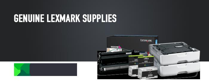 Lexmark Supplies TK Header