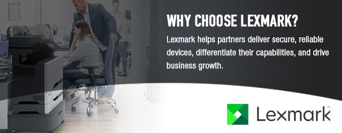 Why Choose Lexmark Header