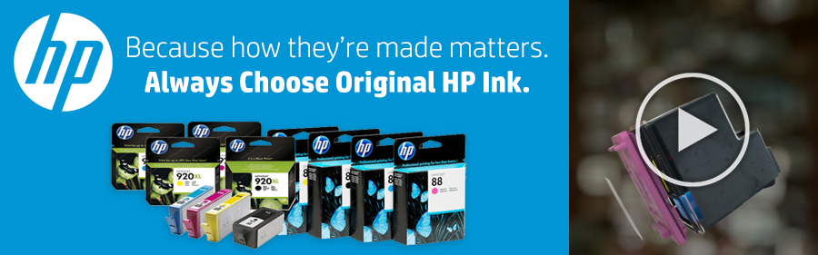 Buy Original HP Ink Log-In