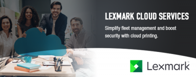 Lexmark Cloud Services Header