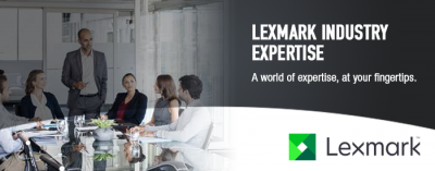 Lexmark Industry Expertise Header