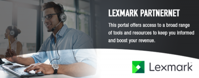 Lexmark PartnerNet Header