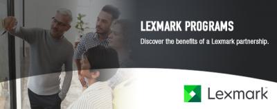 Lexmark Programs Header